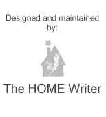 Designed & maintained by TheHOMEWriter.com